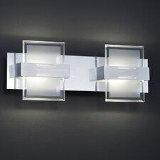 LED-Wandleuchte 2-flammig