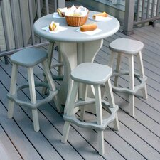 <strong>Leisure Accents</strong> Round Patio Bar Table