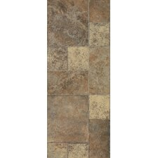 Stones & Ceramics 8.3 mm Tile Laminate in Weathered Way Euro Terracotta