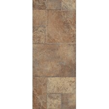 Stones & Ceramics 8.3 mm Tile Laminate in Weathered Way Earthen Copper