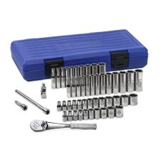 "50 Pc 6 Pt 1/4"" Drive Socket Set"