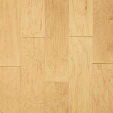 "Century Farm Hand-Sculpted 5"" Engineered Maple Flooring in Antique Cashew"