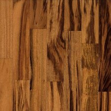 "The Valenza Collection 3-1/2"" Engineered Tigerwood Flooring in Natural"