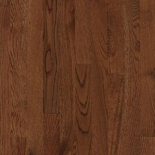 "Kingsford Strip 2-1/4"" Solid White Oak Flooring in Coffee"
