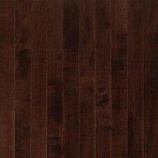 "Sugar Creek 3-1/4"" Solid Maple Flooring in Cocoa Brown"