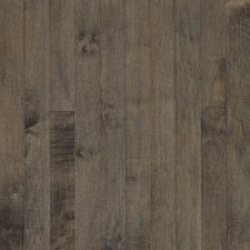"Sugar Creek Strip 2-1/4"" Solid Maple Flooring in Pewter"