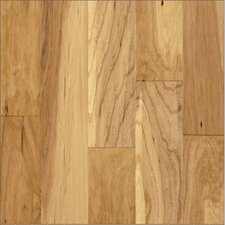 "Century Farm Hand-Sculpted 5"" Engineered Hickory Flooring in Natural"