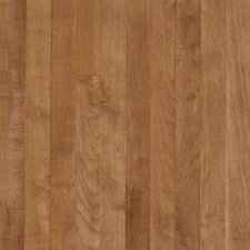 "Sugar Creek Plank 3-1/4"" Solid Maple Flooring in Toasted Almond"