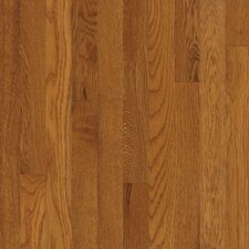 "Kingsford Strip 2-1/4"" Solid White Oak Flooring in Copper"
