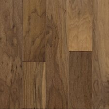 "Century Farm Hand-Sculpted 5"" Engineered Walnut Flooring in Autumn Dusk"