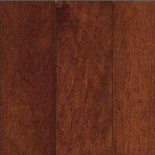 "Sugar Creek Plank 3-1/4"" Solid Maple Flooring in Cherry"