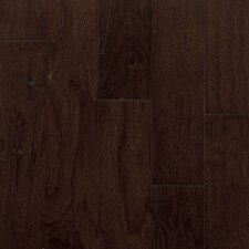 "Century Farm Hand-Sculpted 5"" Engineered Walnut Flooring in Allspice"