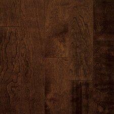 """Artesian Classics Color Wash 5"""" Engineered Yellow Birch Flooring in Cinnabark"""