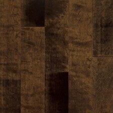 "Artesian Classics Color Wash 5"" Engineered Yellow Birch Flooring in Chocolate Malt"