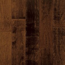"Artesian Classics Color Wash 5"" Engineered Maple Flooring in Raisin"