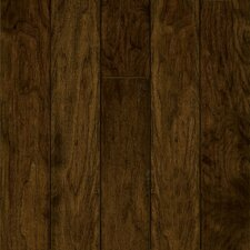"Century Farm Hand-Sculpted 5"" Engineered Walnut Flooring in Fallen Leaf"