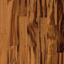 "Valenza 3-1/2"" Solid Tigerwood Flooring in Natural"