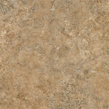 "Alterna Multistone 16"" x 16"" Vinyl Tile in Caramel Gold"