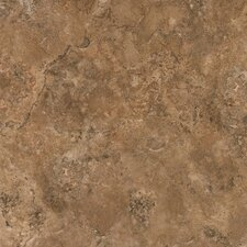 "Alterna Durango 16"" x 16"" Vinyl Tile in Clay"