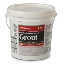 Premixed Sanded Acrylic Grout in Shale - 1 Gallon
