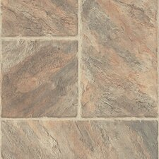 Castilian Block 8mm Tile Laminate in Rambla