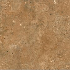 "Alterna Aztec Trail 16"" x 16"" Vinyl Tile in Inca Gold"