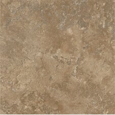 "Alterna Tuscan Path 16"" x 16"" Vinyl Tile in Antique Gold"