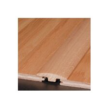 "0.25"" x 2"" Red Oak T-Molding in Redwood"