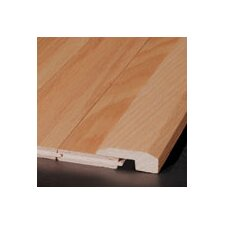 "0.63"" x 2"" Red Oak Threshold in Praline Large"