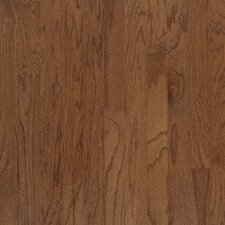 "Beckford Plank 3"" Engineered Red Oak Flooring in Bark"