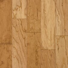 "Century Farm Hand-Sculpted 5"" Engineered Cherry Flooring in Natural"