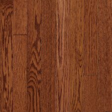 "Somerset Strip 2-1/4"" Solid Oak Flooring in Large Cabernet"