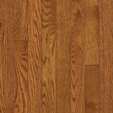 "Somerset Strip 2-1/4"" Solid Oak Flooring in Large Spice Brown"