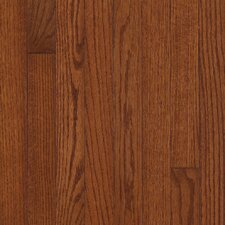 "<strong>Armstrong</strong> Somerset Plank 3-1/4"" Solid Oak Flooring in Large Benedictine"