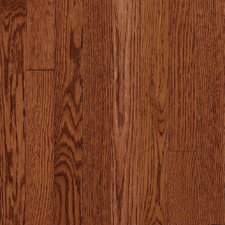 "Somerset Plank 3-1/4"" Solid Oak Flooring in Large Cabernet"