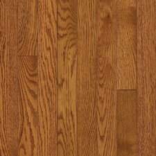 "Somerset Plank 3-1/4"" Solid Oak Flooring in Large Spice Brown"