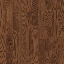 "Yorkshire Plank 3-1/4"" Solid White Oak Flooring in Umber"