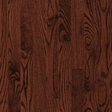 "Yorkshire Strip 2-1/4"" Solid White Oak Flooring in Cherry Spice"