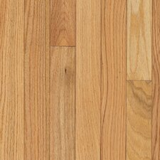"Yorkshire Strip 2-1/4"" Solid Red Oak Flooring in Natural"