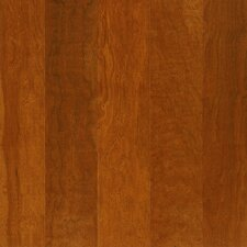 "Performance Plus 5"" Acrylic-Infused Engineered Cherry Flooring in Copper Charm"