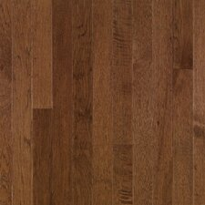 "American Treasures Plank 3-1/4"" Solid Hickory Flooring in Plymouth Brown"
