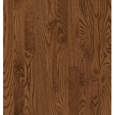 SAMPLE - Manchester Strip Solid Red Oak in Saddle