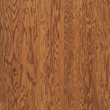 "Turlington Plank 5"" Engineered Red Oak Flooring in Gunstock"