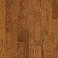 "Townsville Strip 2-1/4"" Engineered Red Oak Flooring in Gunstock"