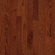 "Townsville Strip 2-1/4"" Engineered White Oak Flooring in Cherry"