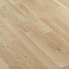 "Fulton Strip 2-1/4"" Solid White Oak Flooring in Winter White"