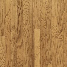 "Turlington Plank 5"" Engineered Red Oak Flooring in Harvest"