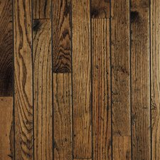 "Trumbull Strip 2-1/4"" Solid Red/White Oak Flooring in Antique"