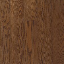 "<strong>Bruce Flooring</strong> Fulton Strip 2-1/4"" Solid Red / White Oak Flooring in Saddle"