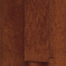 "Natural Choice Strip 2-1/4"" Solid Light / Dark Maple Flooring in Cherry"
